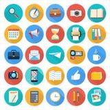 Geschäft, Büro und Marketing-Einzelteilikonen Lizenzfreie Stockfotografie