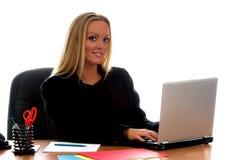 Geschäft blond Stockfoto