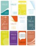 Geschäft cards_2 Stockfotografie