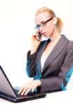 Geschäft comunications lizenzfreie stockfotos