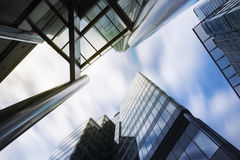 Geschäft, das London errichtet Lizenzfreie Stockfotos