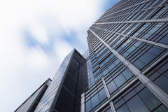Geschäft, das London errichtet Stockfoto