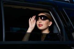 Geschäft in der Limousine Lizenzfreies Stockfoto