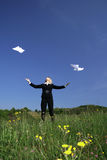 Geschäft in der Natur Lizenzfreies Stockfoto