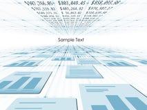 Geschäft des Drehens Papier in Stockbilder