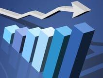 Geschäft Diagramm Lizenzfreie Stockfotos