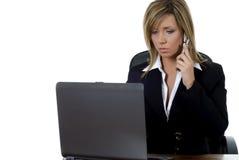 Geschäft execuitive am Telefon Lizenzfreies Stockfoto