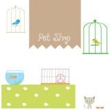Geschäft für Haustiere Lizenzfreies Stockbild