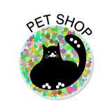 Geschäft- für Haustieredesignvektor Stockfotos