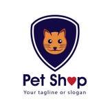 Geschäft- für Haustierezeichen Lizenzfreies Stockbild