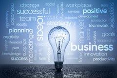 Geschäft fasst Konzept ab lizenzfreies stockfoto