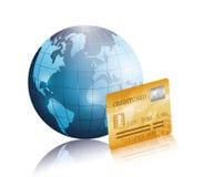 Geschäft, Geld und globale Wirtschaft Lizenzfreies Stockbild