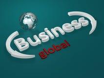Geschäft - global - Zeichen Stockfotos