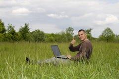Geschäft in im Freien Lizenzfreies Stockfoto