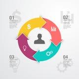 Geschäft Infographic Lizenzfreie Stockbilder