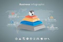 Geschäft Infographic Stockfotografie