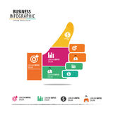 Geschäft Infographic Lizenzfreies Stockfoto