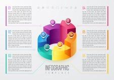 Geschäft Infographic-Design Lizenzfreies Stockfoto