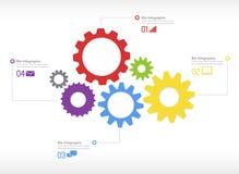 Geschäft Infographic-Vektor Lizenzfreie Stockfotografie