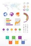 Geschäft infographics stockfotografie
