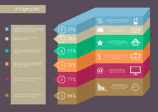 Geschäft infographics Lizenzfreie Stockfotos