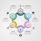 Geschäft Infographics Stockbilder