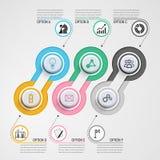 Geschäft Infographics Stockbild