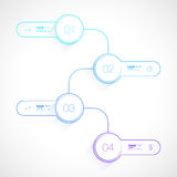 Geschäft Infographics-Design Stockfotos