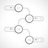 Geschäft Infographics-Design Lizenzfreie Stockbilder