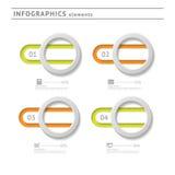 Geschäft infographics Elemente. Modernes Design Temp lizenzfreie abbildung