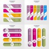 Geschäft Infographics-Gestaltungselement-Schablonenillustration Lizenzfreie Stockbilder