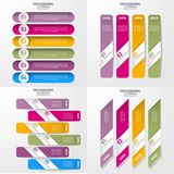 Geschäft Infographics-Gestaltungselement-Schablonenillustration Lizenzfreies Stockbild
