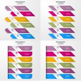 Geschäft Infographics-Gestaltungselement-Schablonenillustration Stockfotografie