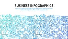 Geschäft Infographics-Konzept Lizenzfreies Stockfoto