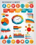 Geschäft infographics Schablone Lizenzfreie Stockfotografie