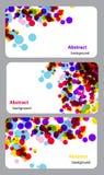 Geschäft-Karte Set Lizenzfreie Stockbilder