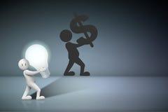 Geschäft kreativ und Ideen-Konzept Stockfotografie