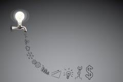 Geschäft kreativ und Ideen-Konzept Lizenzfreie Stockbilder