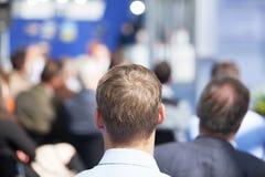 Geschäft oder Berufskonferenz lizenzfreies stockfoto
