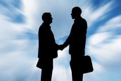 Geschäft parnership Lizenzfreies Stockfoto