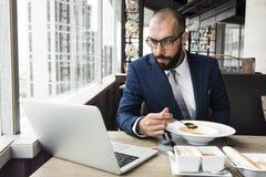 Geschäft Person Work Indoors Concept Lizenzfreies Stockbild