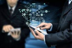 Geschäft Smartphone Stockfoto