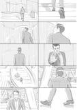 Geschäft Storyboards Lizenzfreie Stockbilder