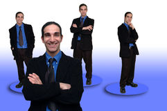 Geschäft team-8 stockfotografie
