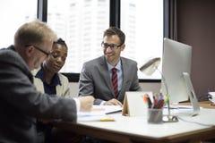 Geschäft Team Corporate Organization Meeting Concept Stockbilder
