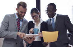 Geschäft Team Corporate Organization Working Concept Lizenzfreies Stockfoto