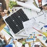 Geschäft Team Meeting Design Interior Concept Lizenzfreies Stockfoto