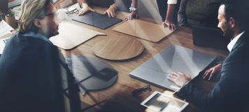 Geschäft Team Meeting Project Planning Concept Lizenzfreies Stockfoto