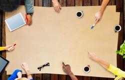 Geschäft Team Planning Project Meeting Concept Lizenzfreies Stockfoto