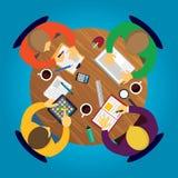 Geschäft Team Work Concept Stockbild